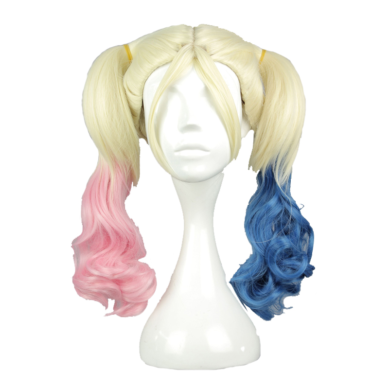 MCOSER Beige Mix Color Heat Resistant Two braids Synthetic Braiding hair cosplay wig 100% High Temperature Fiber WIG-591