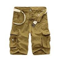 Cargo Szorty Mężczyźni Fajne Kamuflaż Lato Hot Sprzedaż Bawełna Casual Mężczyźni Krótkie Spodnie Odzież Marki Wygodne Camo