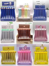 40 pcs pen Cartoon Animal Family black colored gel-inkpens for writing Cute stationery office school supplies