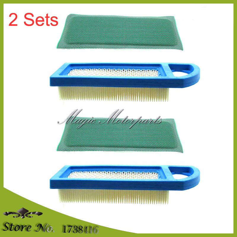 284H07,284H77,285H77 FIT Briggs /& Stratton NEW Professional 10X Air Filter  FOR