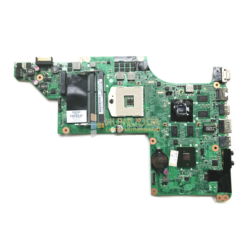 NOKOTION laptop motherboard for HP Pavilion DV6-3000 630278-001 DA0LX6MB6H1 HM55 PGA989 DDR3 HD5650 1GB Support I7 CPU Only original 615279 001 pavilion dv6 dv6 3000 laptop notebook pc motherboard systemboard for hp compaq 100% tested working perfect