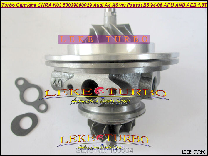 Turbo Cartridge CHRA K03 53039700029 53039880029 53039700025 53039880026 For AUDI A4 A6 For VW Passat B5 1.8L APU ANB AEB 1.8T turbo k03 53039700029 53039880029 058145703j n058145703c for audi a4 a6 vw passat variant 1 8t amg awm atw aug bfb apu aeb 1 8l