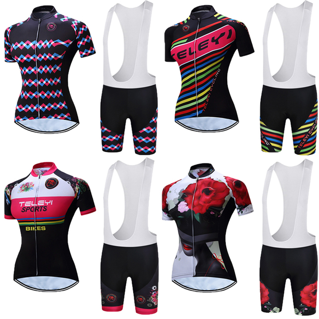 d0c103a1a Women s Summer short sleeve Bike clothing 2019 Pro mtb cycling jersey shirt  female Bicycle Clothes Wear Cycle Maillot Uniform