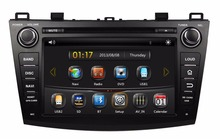 HD 2 din 8″ Car DVD GPS Navigation for MAZDA 3 2009-2012 With Bluetooth IPOD TV Radio/RDS SWC USB AUX IN