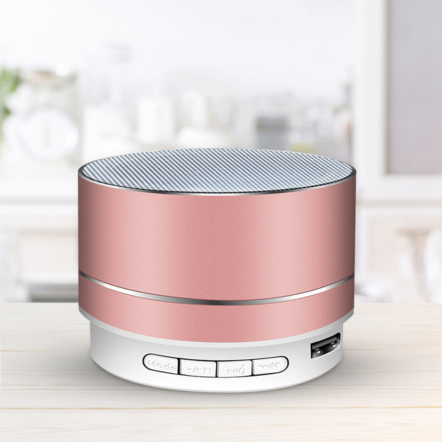 Rechargeable Portable Bluetooth Speaker Mini Speaker Music Audio TF USB AUX Stereo Sound Speaker Audio Music Player 1