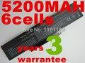 5200 mAh 11.1 v 6 células de Bateria para Dell Inspiron 1425 1426 1427 BATEL80L6 BATCL80L9 BATEL80L6 BATEL80L9 BATHL90L6