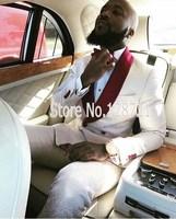 New Design Mens Suits Groom Tuxedos Groomsmen Wedding Party Dinner Best Man Suits Blazer (Jacket+Pants+Bow Tie) NO:1345