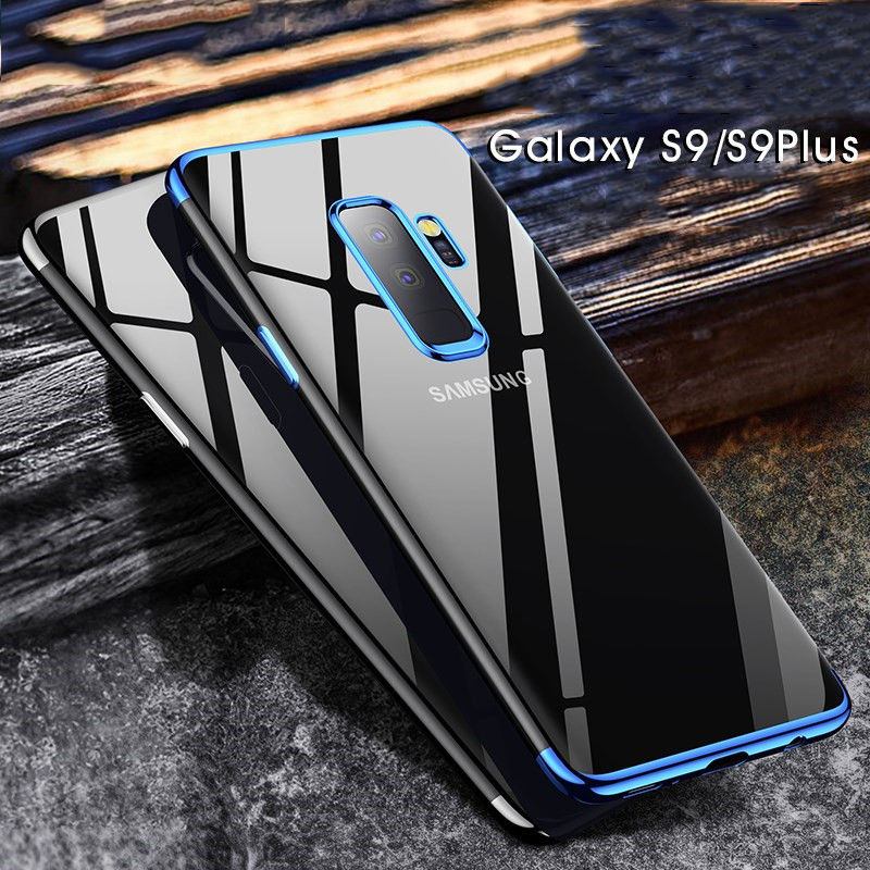Luxury TPU Phone Case For Samsung Galaxy S9 S8 S7 S6 Plus Edge Ultra Thin Soft Clear Cases For Sumsung Galaxy Note 8 5 Cover