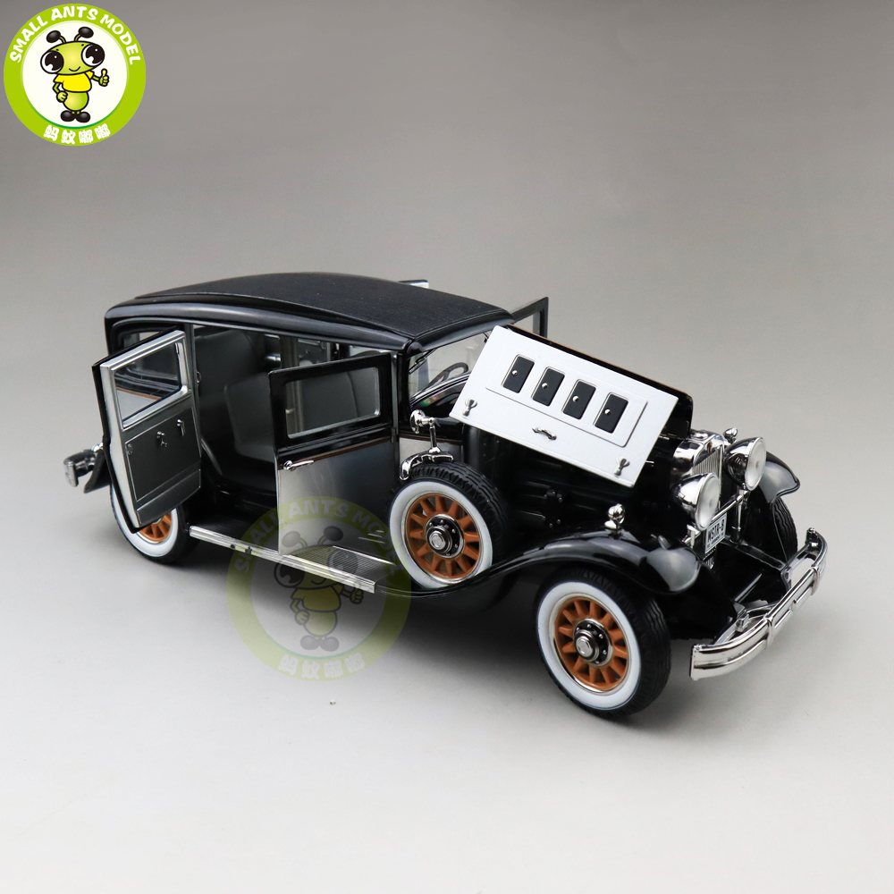 Image 3 - 1/18 AUTO WORLD 1931 PEERLESS MASTER 8 SEDAN Diecast Model Car Toys Boys Girls Gift-in Diecasts & Toy Vehicles from Toys & Hobbies