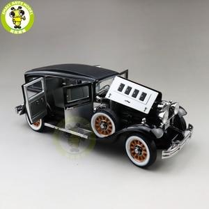 Image 3 - 1/18 auto mundo 1931 mestre peerless 8 sedan diecast modelo de carro brinquedos meninos meninas presente