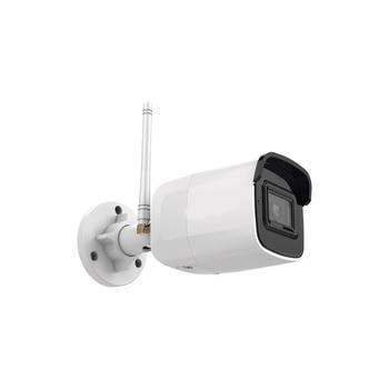 Оригинальная DS-2CD2041G1-IDW1 видеонаблюдения 4MP WiFi IP Сетевая цилиндрическая камера H.265 Встроенный микрофон