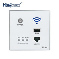 110 250V New White USB Socket Wireless WIFI USB Charging Socket Wall Embedded Wireless AP Router