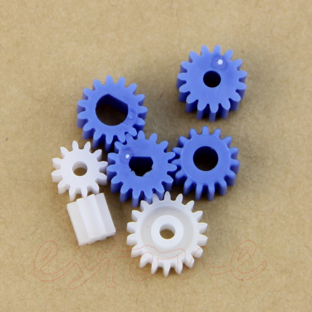 New 16 Kinds Plastic Shaft Gears Spindle Gears Gear-B 2MM 2.3MM 3MM 3.17MM 4MM Worm