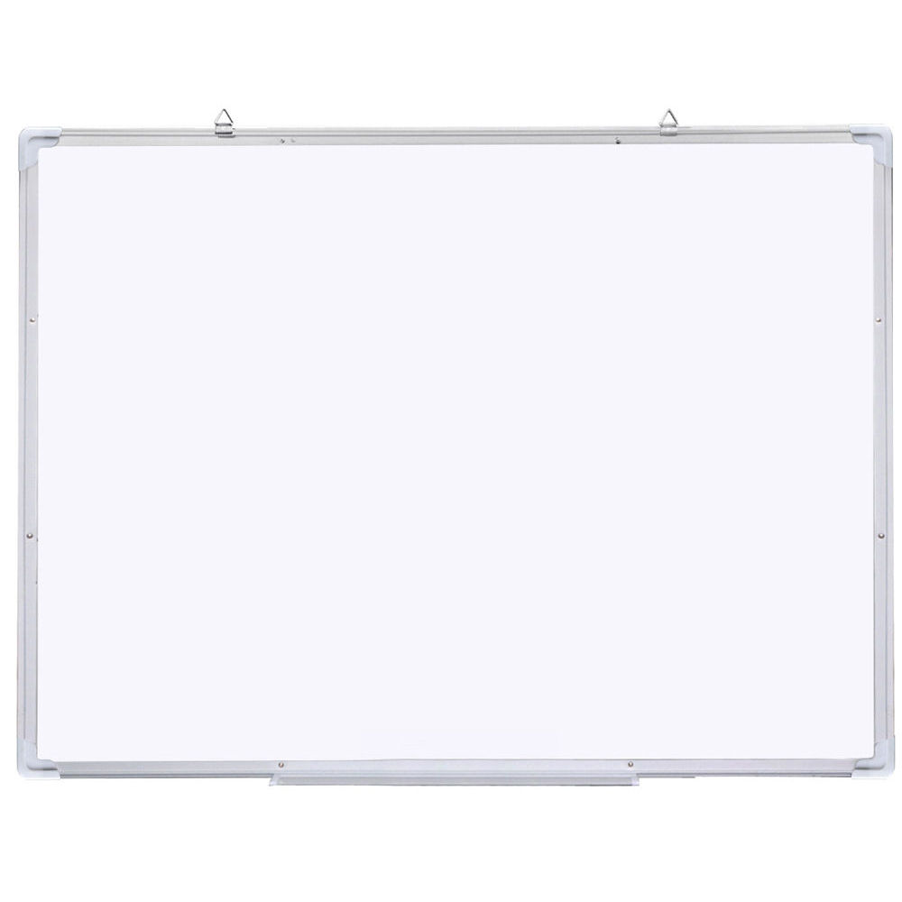 47x31 Single Side Magnetic Writing Whiteboard Office Dry Erase Board White whiteboard writing board magnetic writing board fridge writing board removable whiteboard home decoration message board memo pad