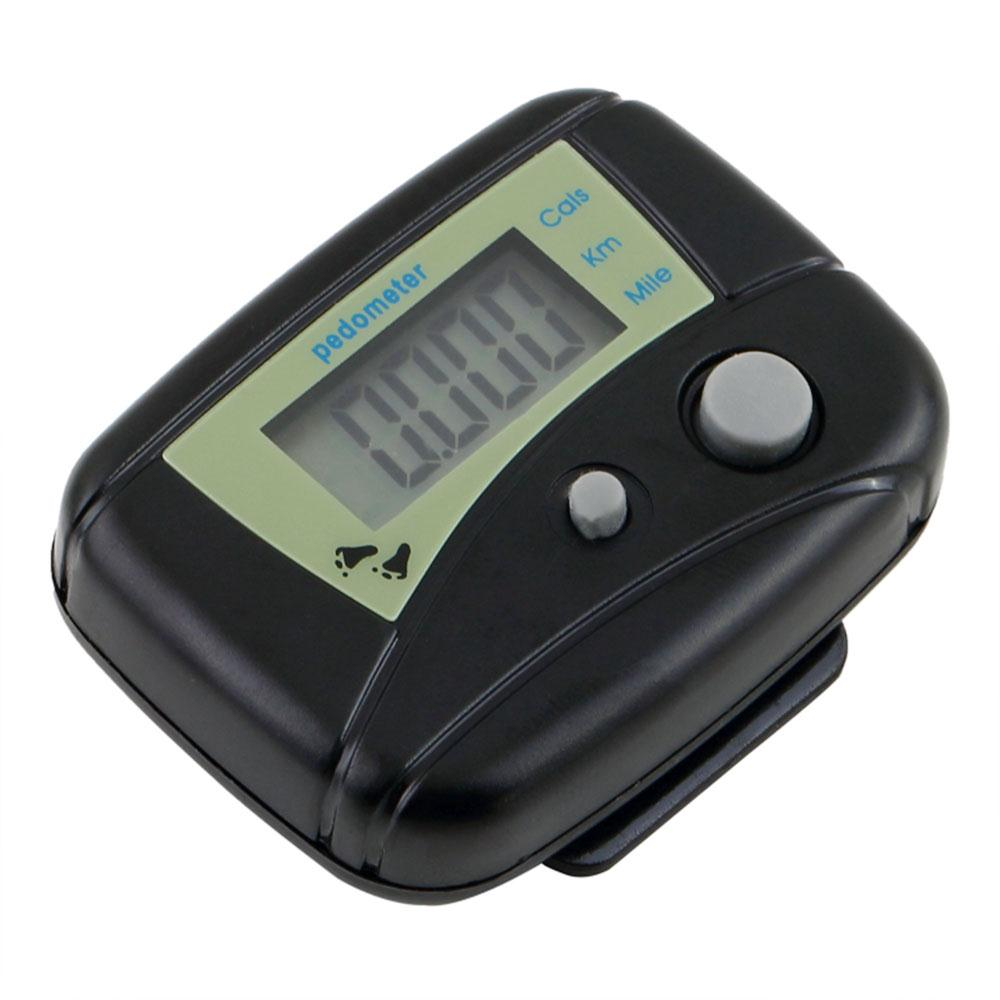 Forfar Healthy Sports Pedometers New 1pc Black LCD Pedometer Step Calorie Counter Walking Distance Sport Pedometer