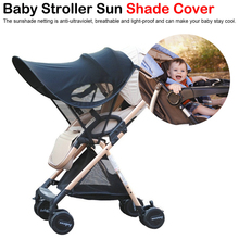 Universal Baby Stroller Accessories Sun shade Visor Canopy Cover UV Resistant Hat fit Babyzenes Pushchair Pram