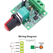 Drive-Module Motor Speed-Control-Switch PWM Adjustable Low-Voltage DC 5V 6V 2A 3V 12V