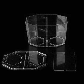 Acrylic Guppy Fish Tank Two Splits Aquarium Betta Fish Bowl Transparent Aquarium Hatchery Breeding Isolation Box AT009 1