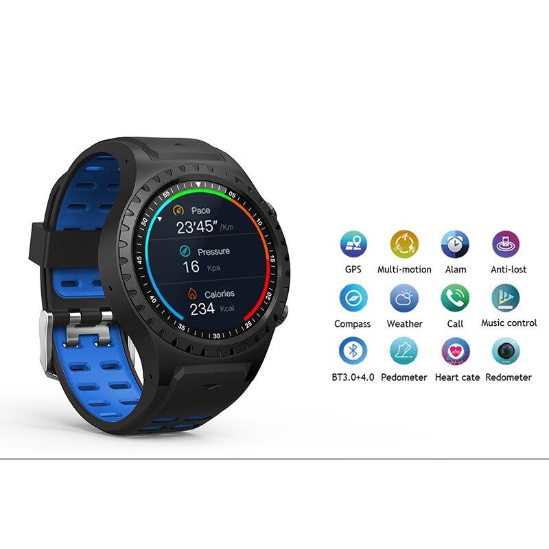 Northedge GPS montre intelligente en cours d'exécution Sport GPS montre Bluetooth appel téléphonique Smartphone étanche fréquence cardiaque boussole horloge d'altitude - 4
