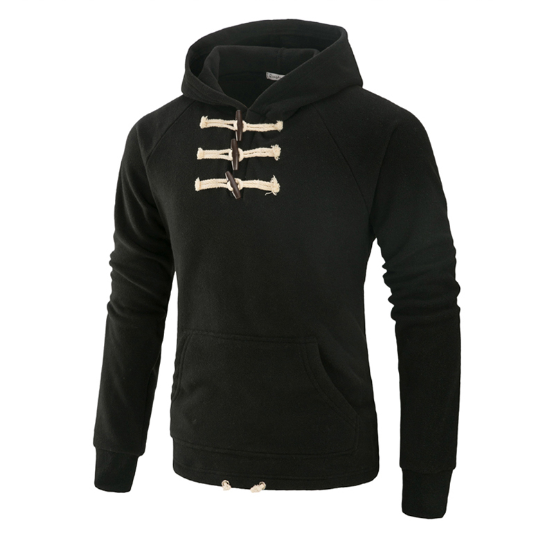 Men Hoodie Pullover Sweatshirts Outwear Plus-Size Cotton Casual Moletom Amtumn Male Men's
