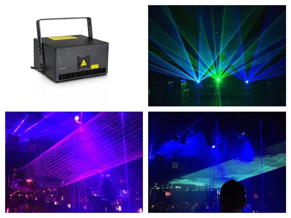 Flightcase + Full color 5 W RGB Animação de Luz Laser Fase Analógica SD DMX512 ILDA Som Auto evento festa de casamento