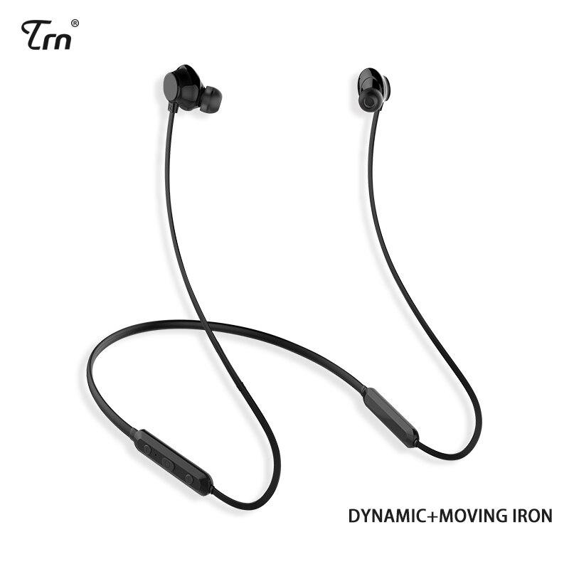 Newest TRN AS10 Bluetooth Earphone IPX7 waterproof Sports Earphones casque HIFI Wireless Headphone With Microphone support aptX