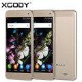 Xgody x13 5.0 pulgadas mtk6580 quad core 1 gb ram 8 gb rom smartphone Teléfono Celular móvil Dual SIM 5.0MP Desbloqueado con EL ENVÍO LIBRE de 8 GB Tf