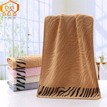 Tiger Stripes Bamboo Fiber Hand/Face/Hair Towels 34X76CM Healthy Antibacterial Super Absorption Thicken Solid Bathroom Towel origial xiaomi zsh towel powerful absorption antibacterial long staple cotton sealed packaging youth series white