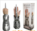 Alta Qualidade 1 pcs NECA assassins Creed Brotherhood Lâmina Invisível Ezio Auditore Gauntlet Replica Cosplay Presente de Natal # AC002