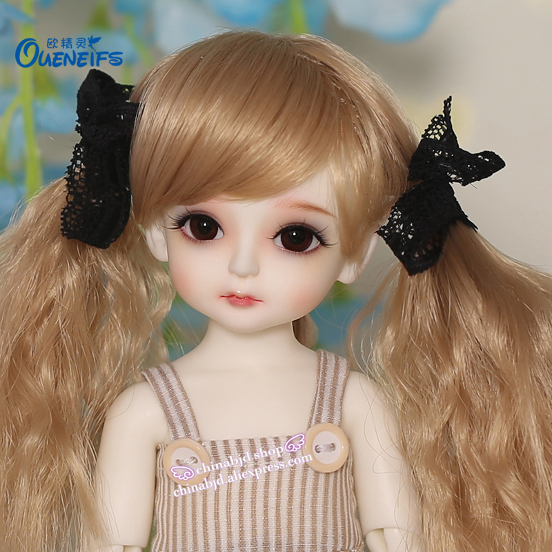 OUENEIFS bjd sd doll Kimi 1/6 yosd body model reborn baby girls boys doll eyes High Quality toys shop makeup resin Free eyes