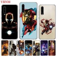 Fashion Phone Case For Huawei P8 P9 P10 Lite P20 P30 Pro P Smart Nova 4 Art Patterned Customized Cases Iron Man Marvel Hero