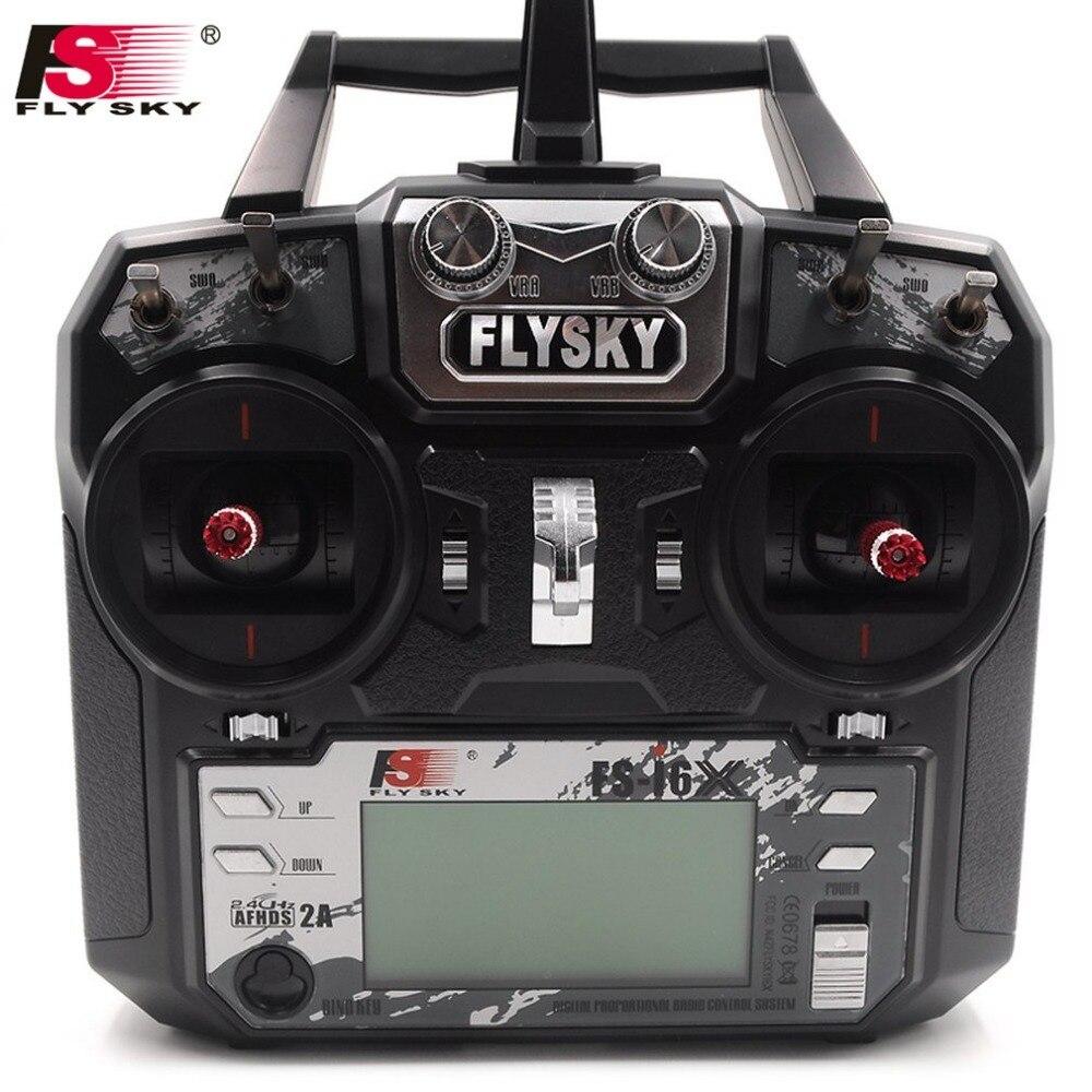 FS-i6X FS I6X Flysky 2.4g RC Trasmettitore Contrôleur Ricevitore iA6B i6 Aggiornamento Par RC Hélicoptère Multi-rotore Drone