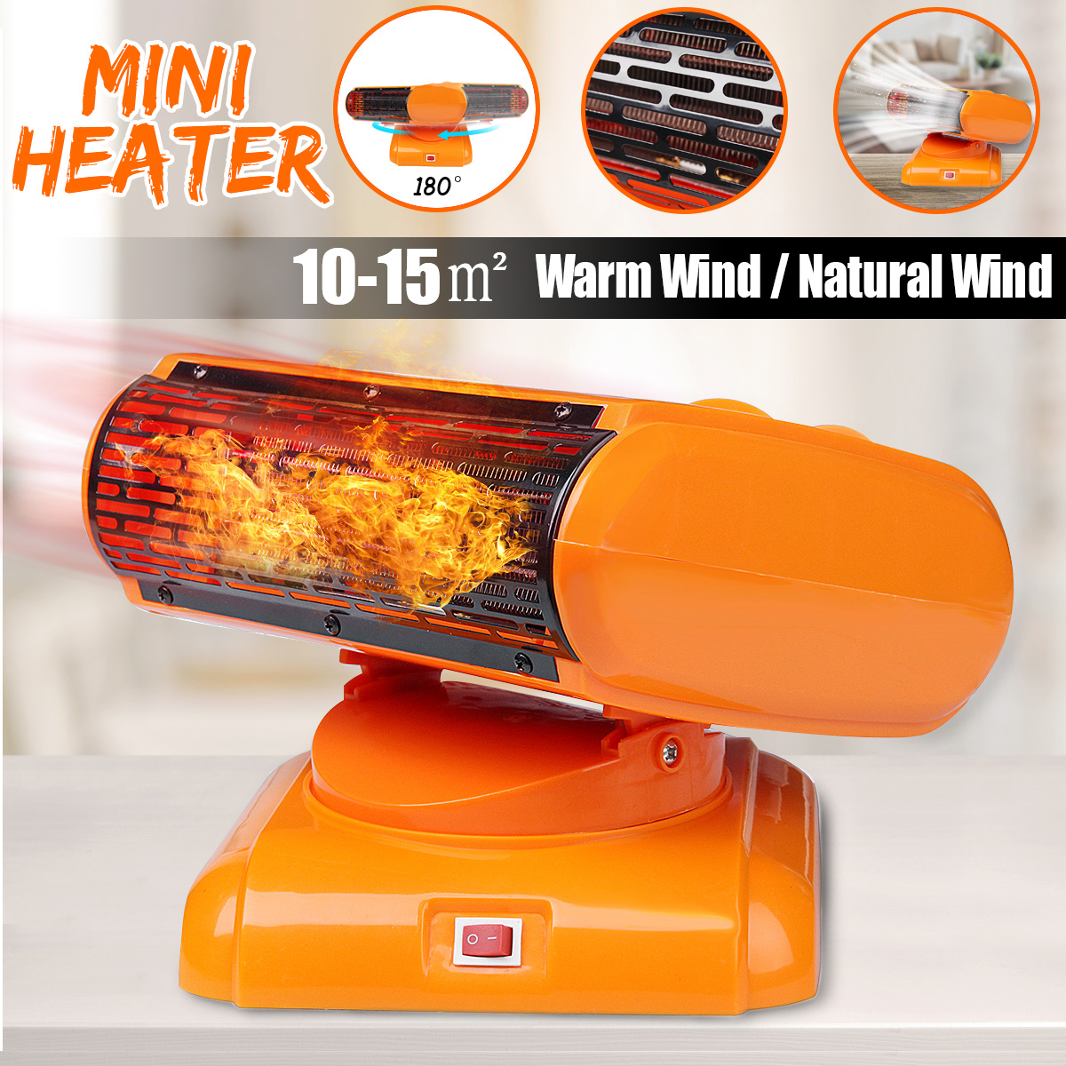 Power Electric Heater Fan Energy Saving Mini Desktop Warm Air Conditioning Warm/Natural Wind For Winter Heating Office HomePower Electric Heater Fan Energy Saving Mini Desktop Warm Air Conditioning Warm/Natural Wind For Winter Heating Office Home