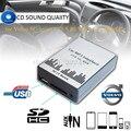 Lonleap Novo Carro USB SD AUX Adaptador MP3 CD Trocador para a Volvo SC-série C70 S80 Carregador de Carro Interface de Fácil Instalação partes