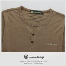 2017 Autumn Cotton Casual T-shirt Men Long Sleeve Fashion High Quality Brand Casual V-neck Mens Clothing Tshirt Homme Tops Tees