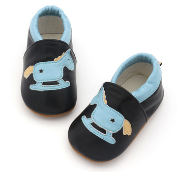 Angelatracy 2019 New Arrival Soft Infant Leather Baby Shoe Non-slip Hollow Out Horse Toddler First Walker Prewalker