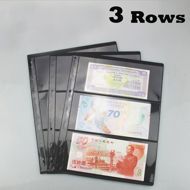 10PCS/4PCS Postage Stamp Album Sheets PCCB 3 Rowall Post Stamps Album Pages Loose Leaf Collecting Book For Collections 100 pcs lot postage stamps good condition used with post mark from all the world stamp collecting estampillas de correo