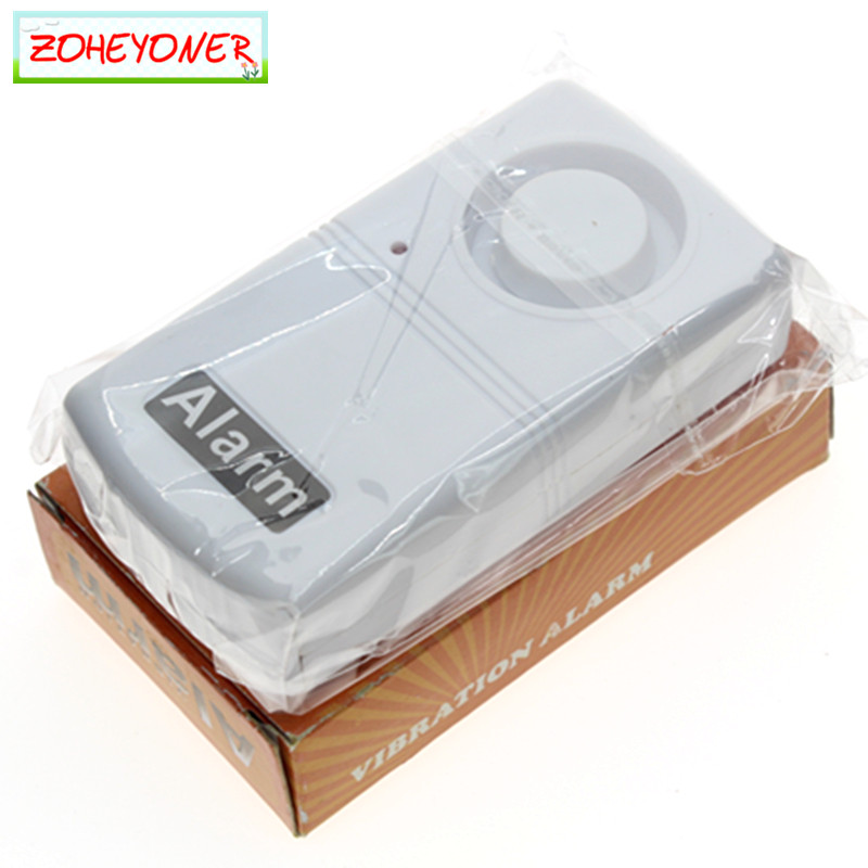Earthquake Detector Doorbell against thieves Home Security Vibration Sensor Mini Anti-Theft System 120dB Alarms Window Door