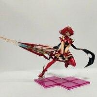 Xenoblade Chronicles 2 Pyra Homura PVC Action Figures Anime Game Xenoblade Chronicles 2 Figurine Toy 210mm