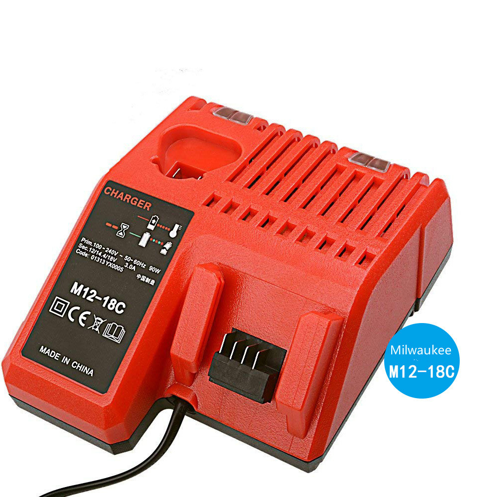 For Milwaukee M12 18C lithium battery charger milwaukee12V 18V battery charger M1218 in Chargers from Consumer Electronics