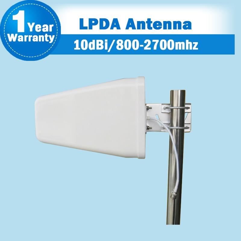 GSM 2G/3G/4G 800-2700MHz 2G 900 3G WCDMA 4G LTE 2600 Outdoor LPDA Log Periodic Antenna External Antenna For Siganl Booster S31