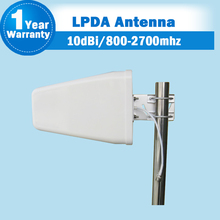 GSM 2G 3G 4G 800-2700MHz 3G WCDMA 4G LTE 2600 Outdoor LPDA Log Periodic Antenna External Antenna For Mobile Phone Siganl Booster