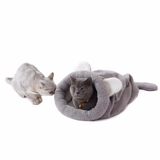 Super Soft Big Size Cat Bed Cat House Chihuahua Sleeping Bag Chinchilla Totoro Rabbit Guinea Pigs Bed Mat Cat Tunnel Puppy Bed