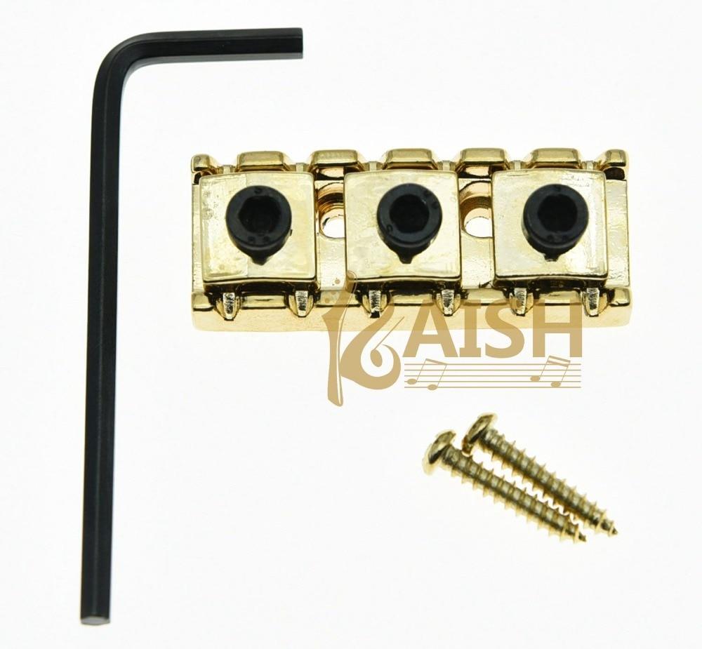 R3 Guitar 43mm Locking Lock Nut String Lock Fits Floyd Rose Tremolo Bridge Gold