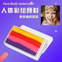 ボディ塗装顔料子供オイルカラーフェイス水彩蛍光顔料フィンガーペインティング使用のための公