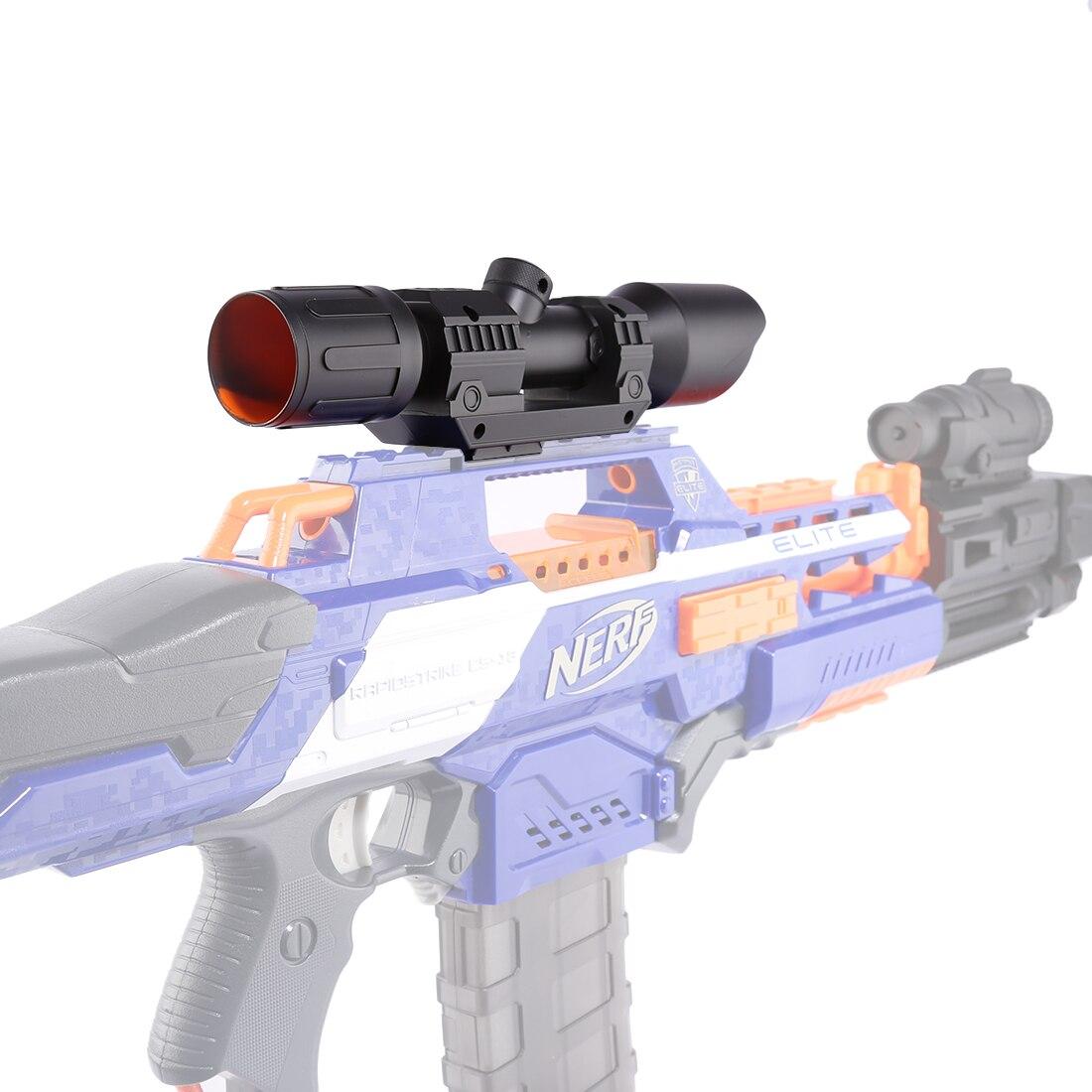 Modificado parte delantera de avistamiento de dispositivo para Nerf Elite Series-Negro