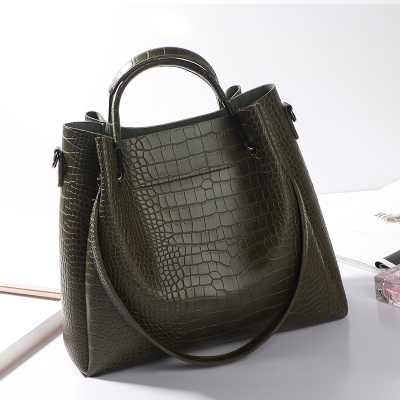 ФОТО Women Shoulder Bag Famous Brand Bucket Bag Drawstring Bucket Bag Crossbody Messenger Handbag  black gray Army green brown b07 30