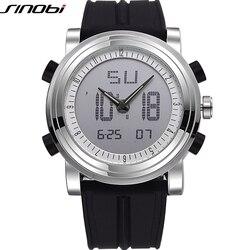 SINOBI Sport Watches for Men Silicone Strap Brand Digital-Watch 2018 noctilucous Waterproof Luxury Watch Men Relogios Masculinos
