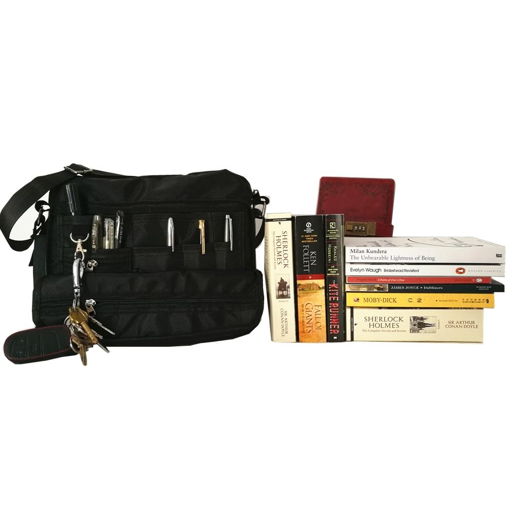 New 1680D Oxford Preppy Style School Bag Fashion High Quality College Men Women Handbag Desinger Book Pen Key Clutch Bag Luggage