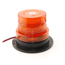 цена на DC10V-110V high power Amber LED warning lights medium magnetic mounted vehicle LED flashing beacon emergency lighting lamp